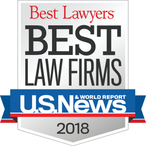2018 Best Law Firms Badge