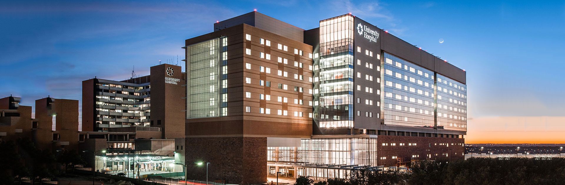 """University Health System's one million square foot Sky Tower project was named """"Best Project: Healthcare"""" by Engineering News-Record for 2014 Best Projects Competition"""