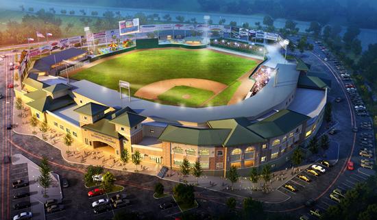 Skeeters Minor League Baseball Stadium in Sugar Land